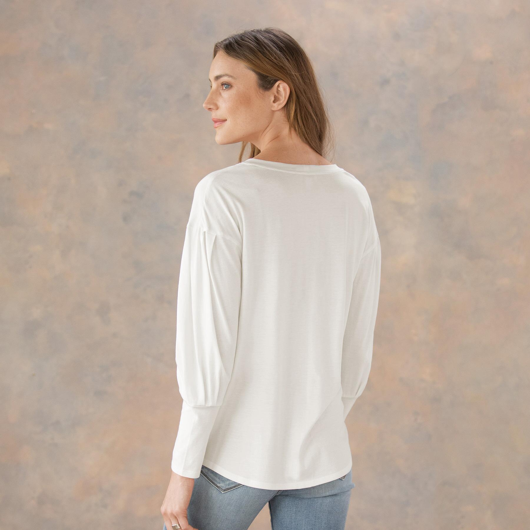 CHELSEA DRAPED TOP: View 3