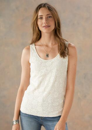 INSPIRATIONS LACE TANK
