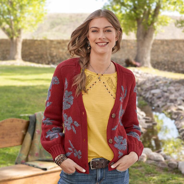 WILDFLOWER BEAUTY CARDIGAN