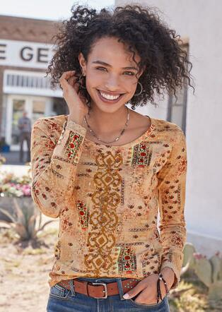 TAPESTRY PLAY TEE