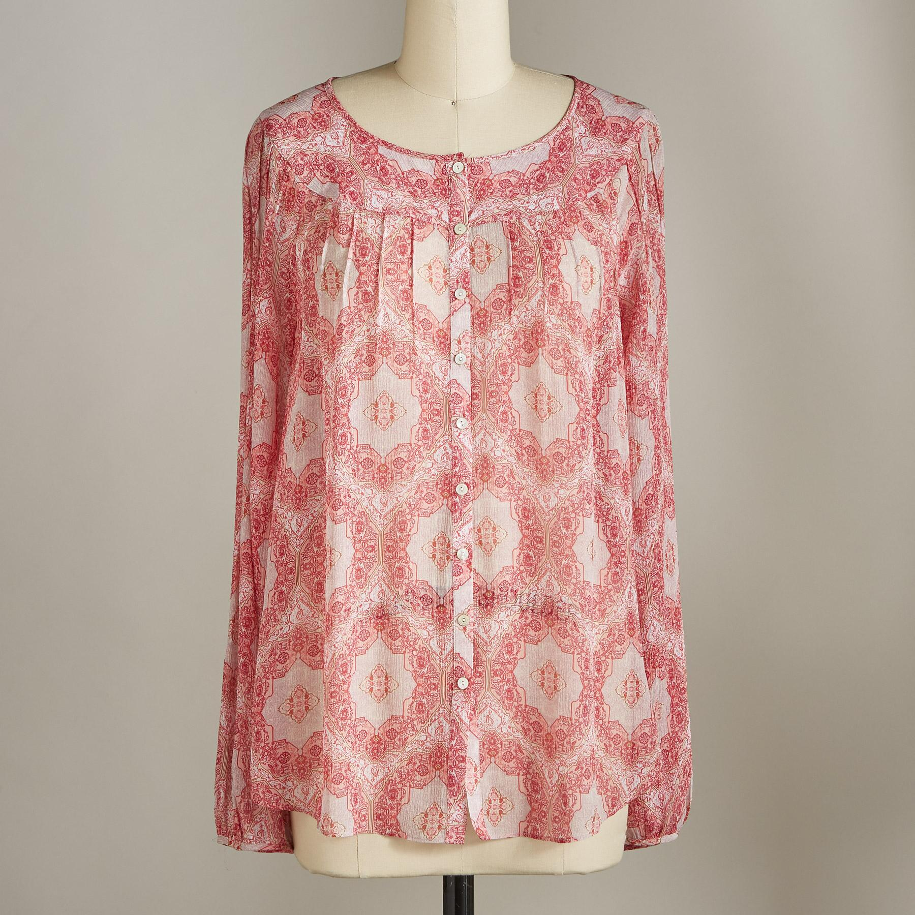 MEDALLION BREEZE BLOUSE: View 2