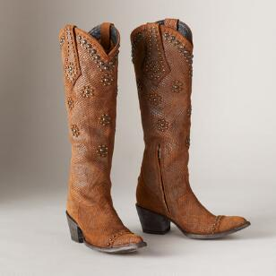 SAVANNAH DANCE BOOTS