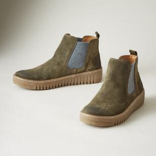 HARTLEY SUEDE BOOTS