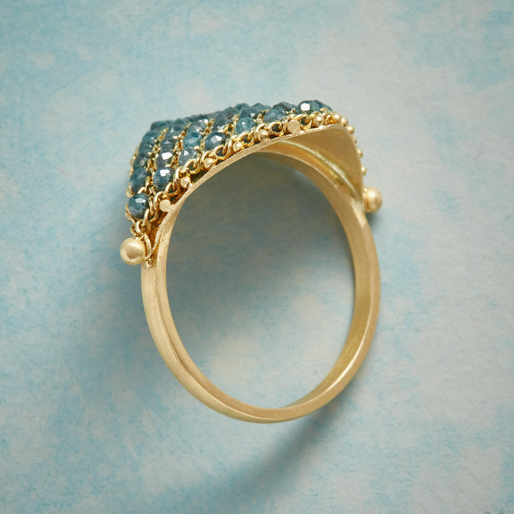 DIAMOND TAPESTRY RING: View 2