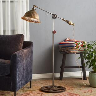 WEBER RIVER FLOOR LAMP