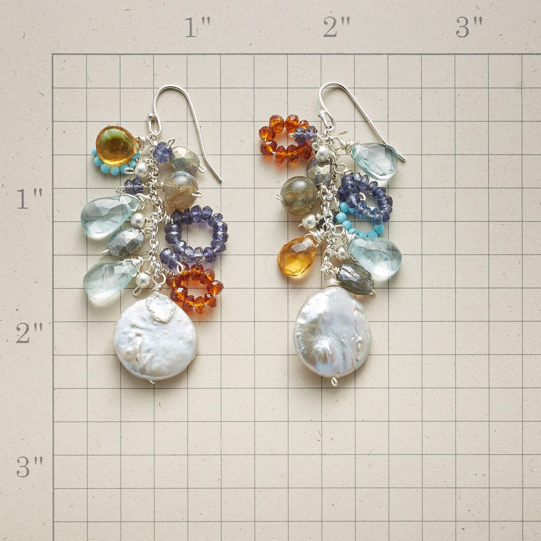 SECLUDED INLET EARRINGS: View 2