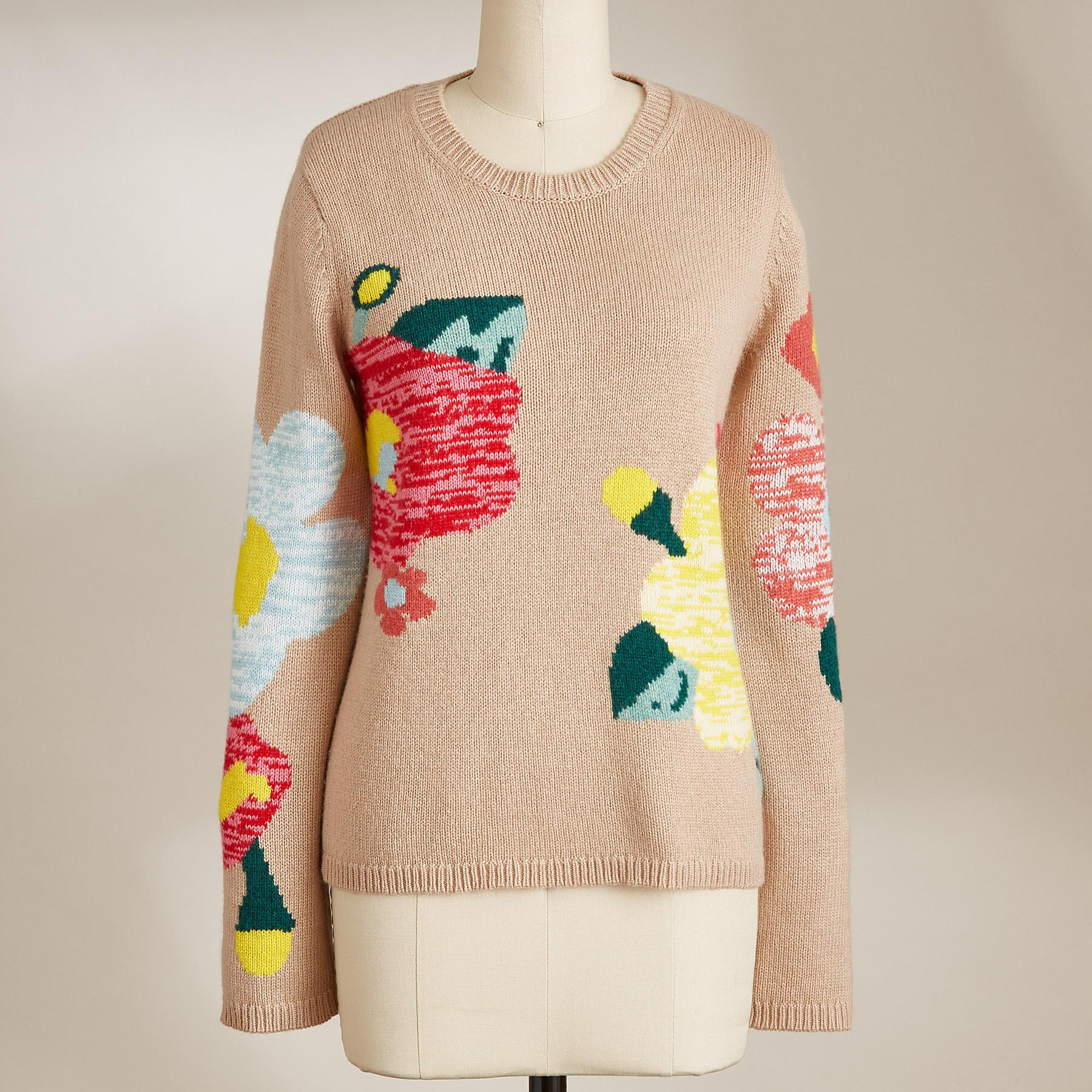 WINTER FLOWERS SWEATER: View 2