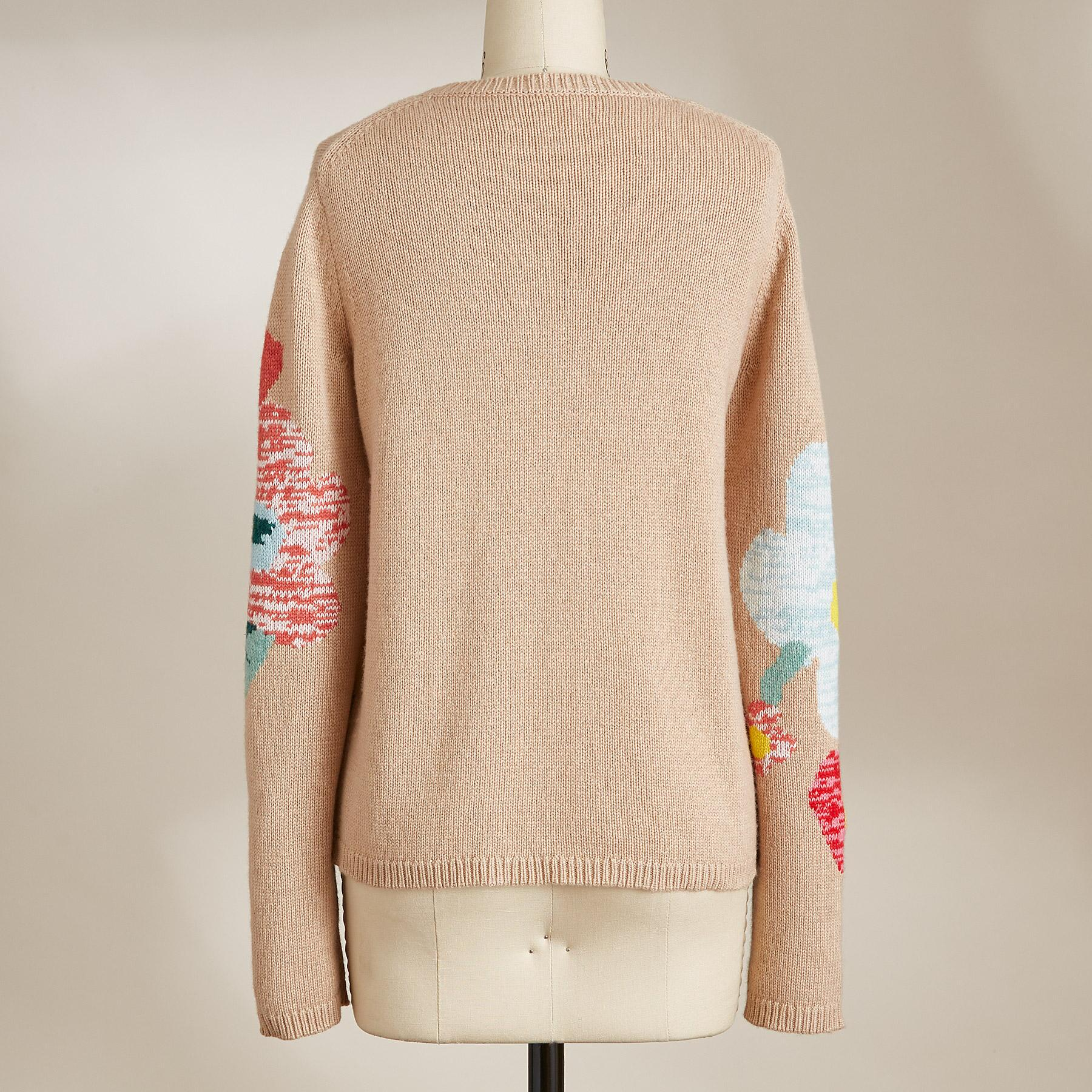 WINTER FLOWERS SWEATER: View 3