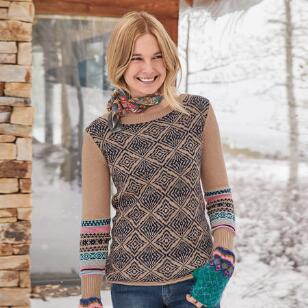 LOVELY ISLES SWEATER