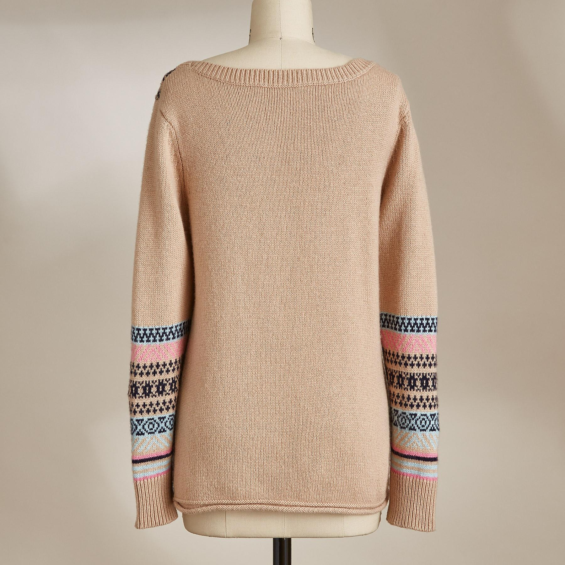 LOVELY ISLES SWEATER: View 2