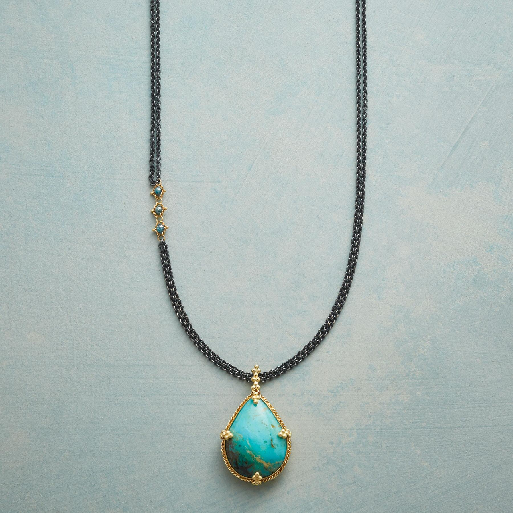 TURQUOISE TREASURE NECKLACE: View 1