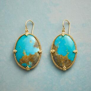 TURQUOISE ATLAS EARRINGS