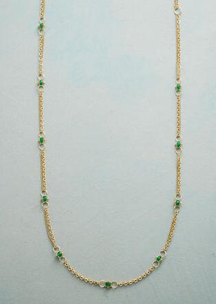 EMERALD INTERLUDE NECKLACE