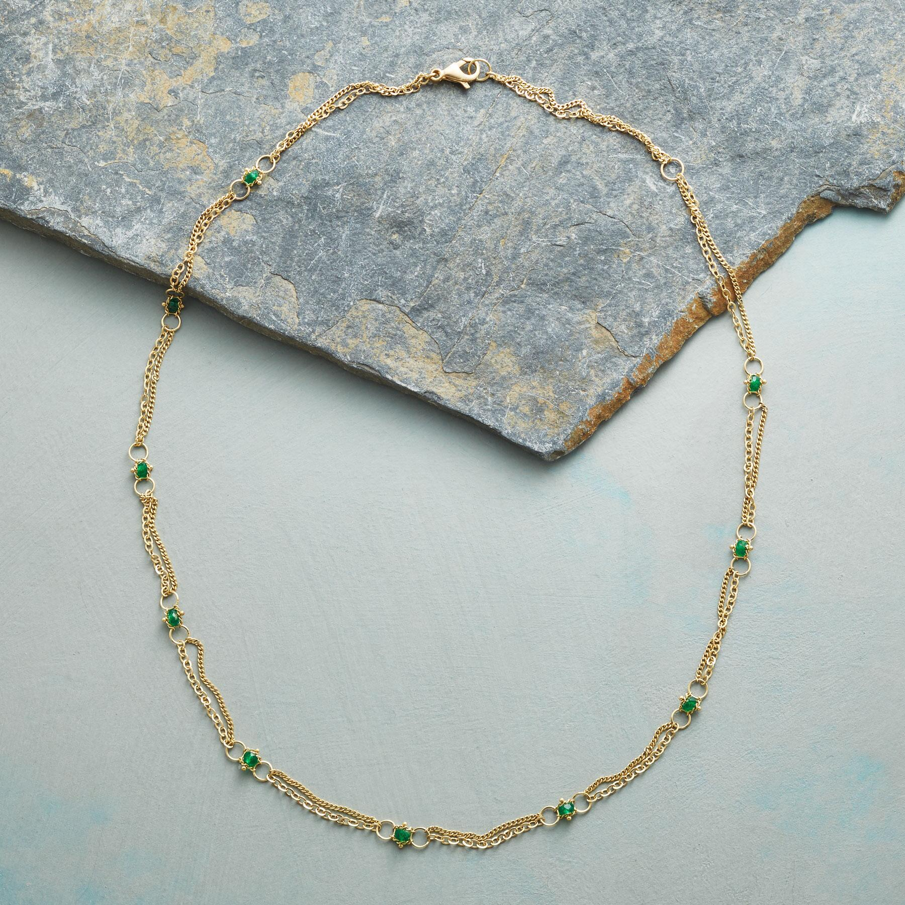 EMERALD INTERLUDE NECKLACE: View 2