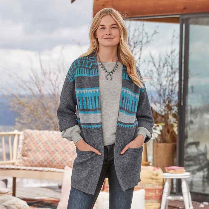 QUIET ISLE CARDIGAN