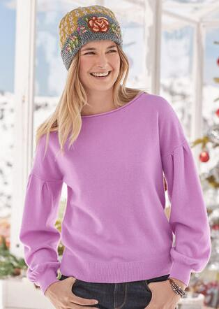 SONJA CASHMERE SWEATER