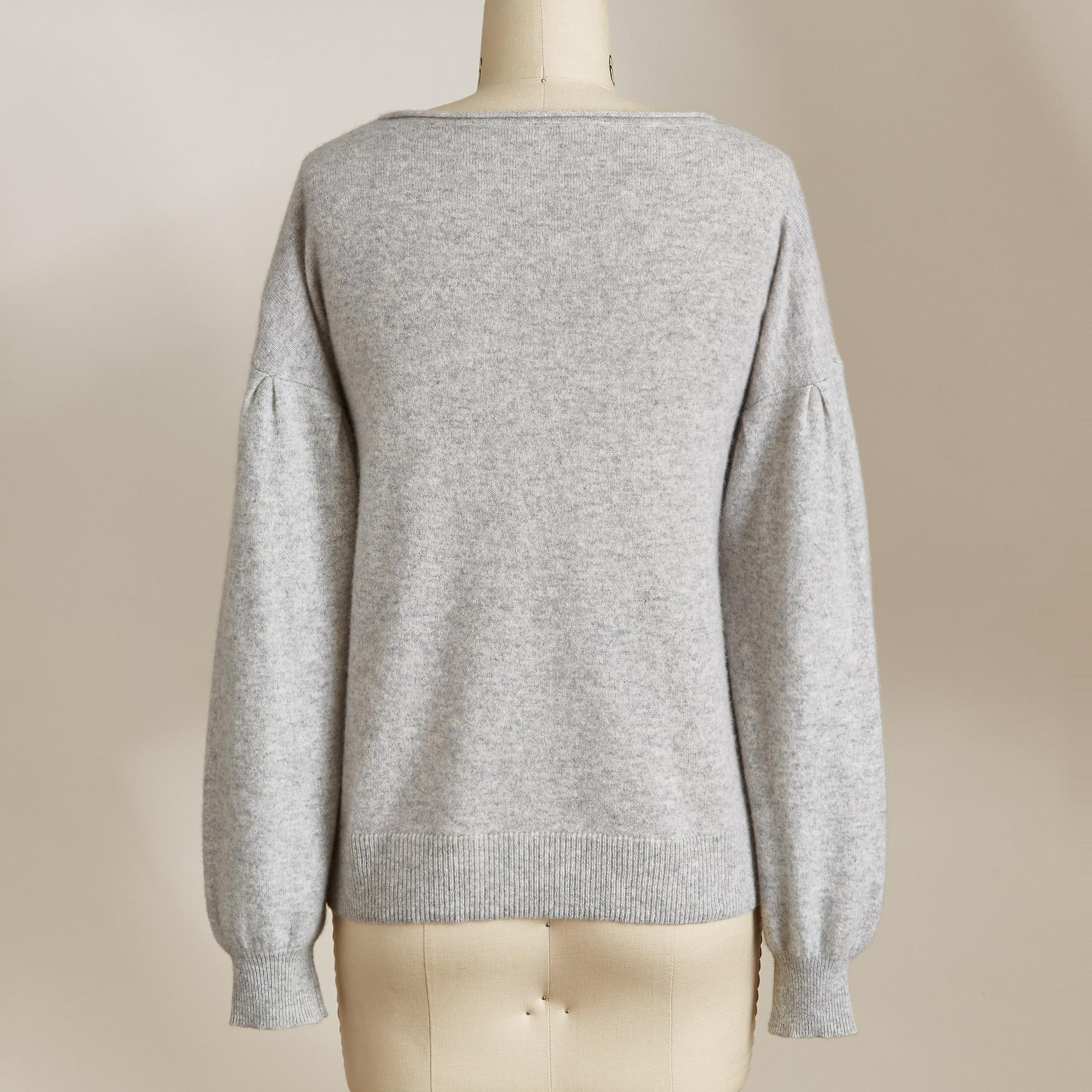 SONJA CASHMERE SWEATER: View 3