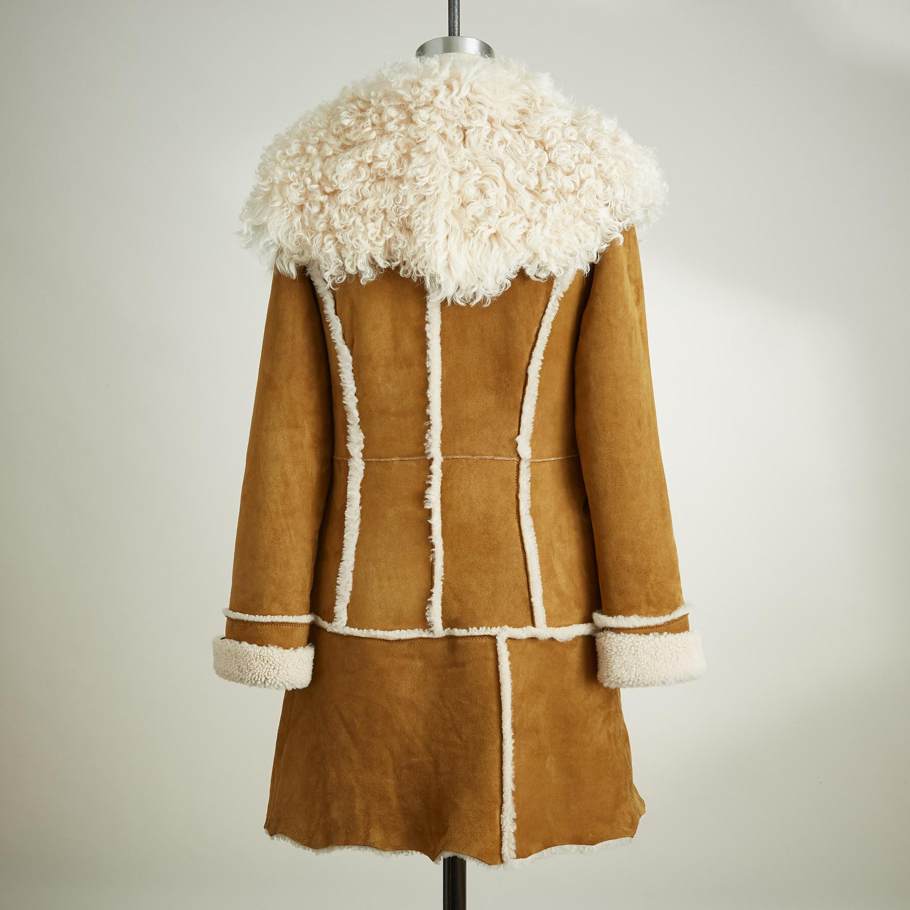 GWYNETH SHEARLING COAT: View 2