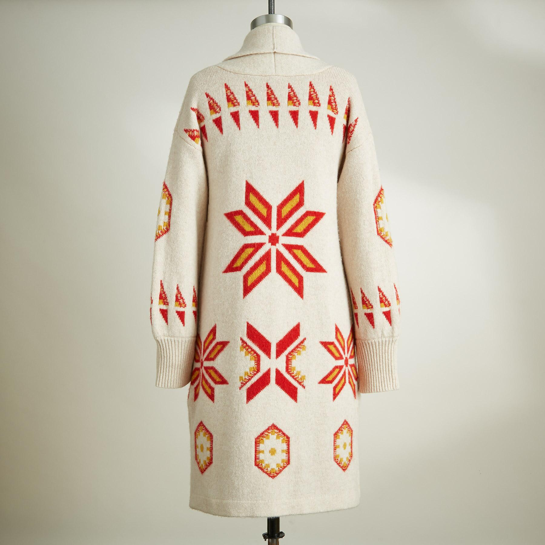 NORDIC SWEATER COAT: View 2