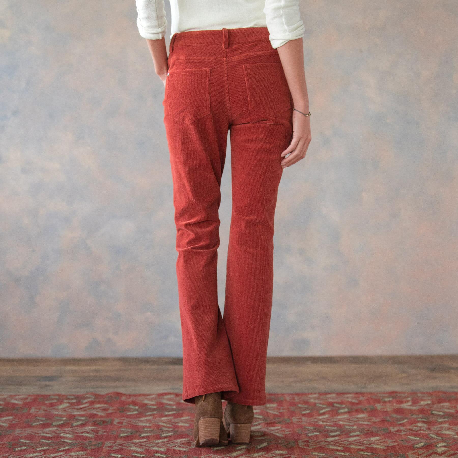 NICOLE CORDUROY PANTS PETITE: View 3