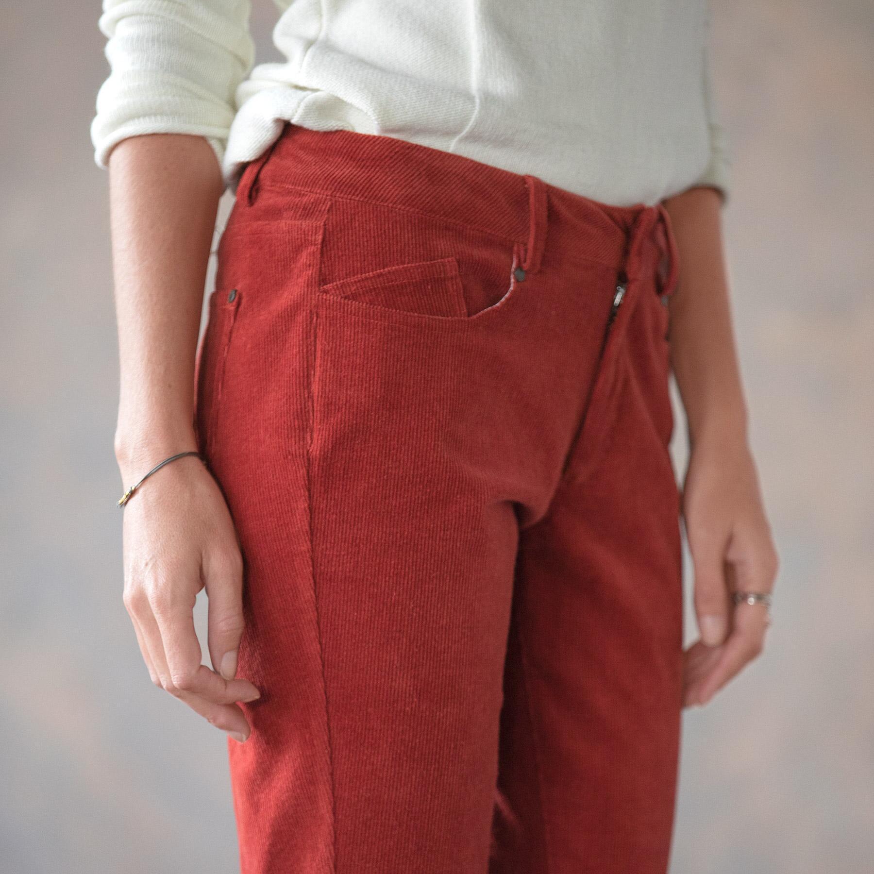 NICOLE CORDUROY PANTS PETITE: View 4