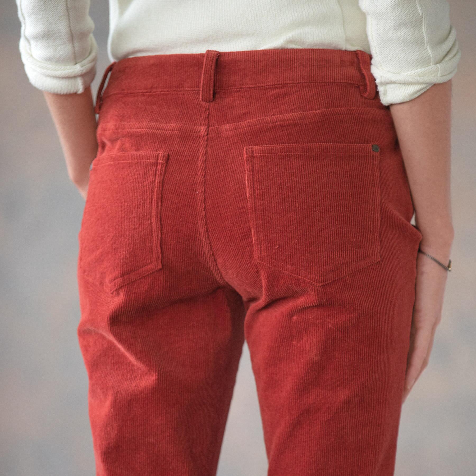 NICOLE CORDUROY PANTS PETITE: View 5