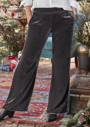 FESTIVE FLAIR PANTS - PETITES