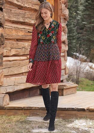 PATTERNS OF WONDER DRESS - PETITES