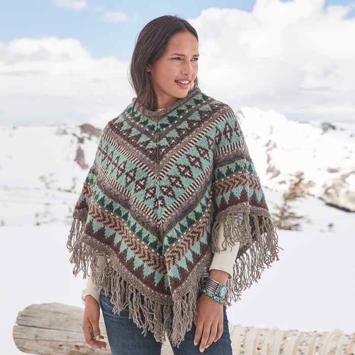 HEIRLOOM PONCHO