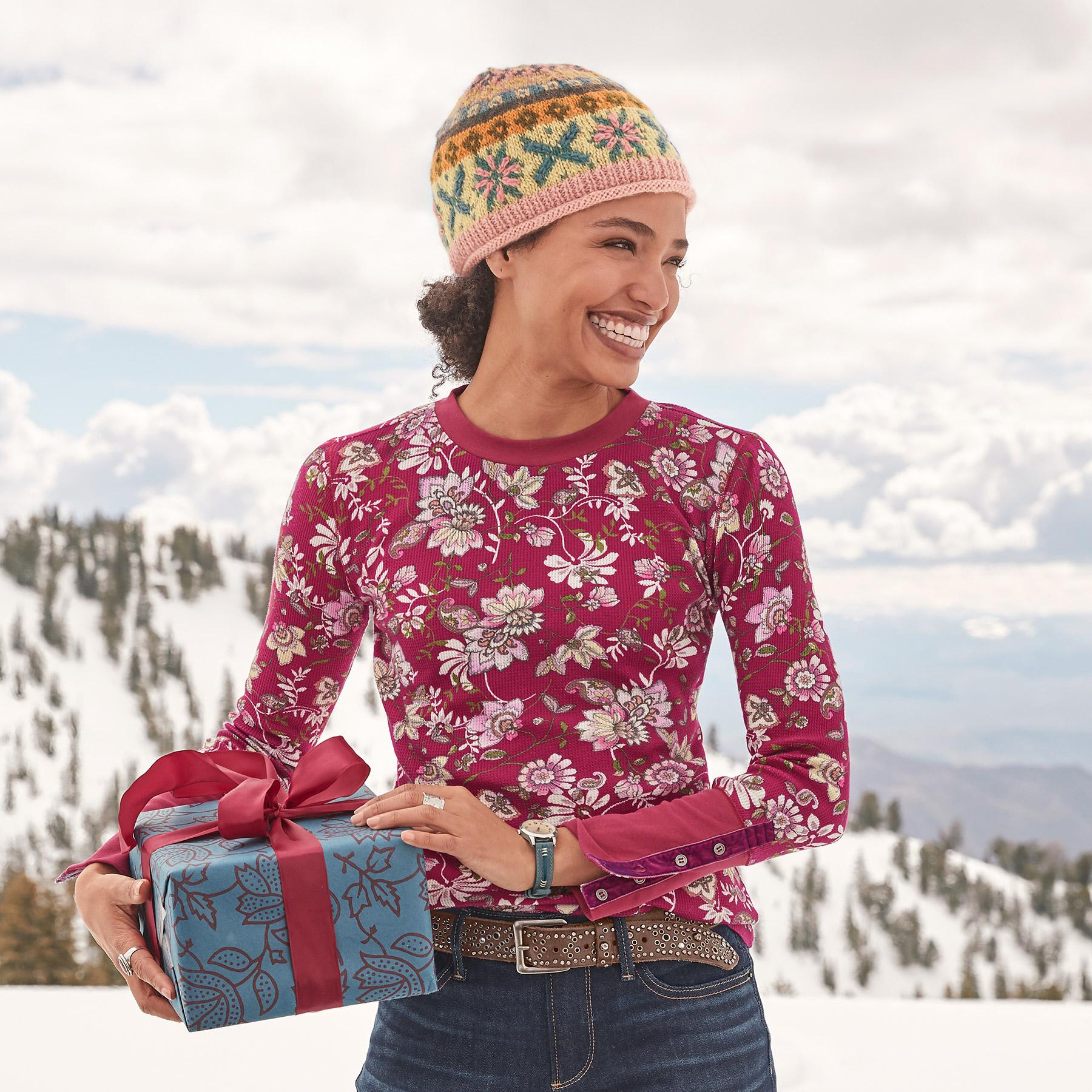 FLORAL THERMAL TEE: View 1