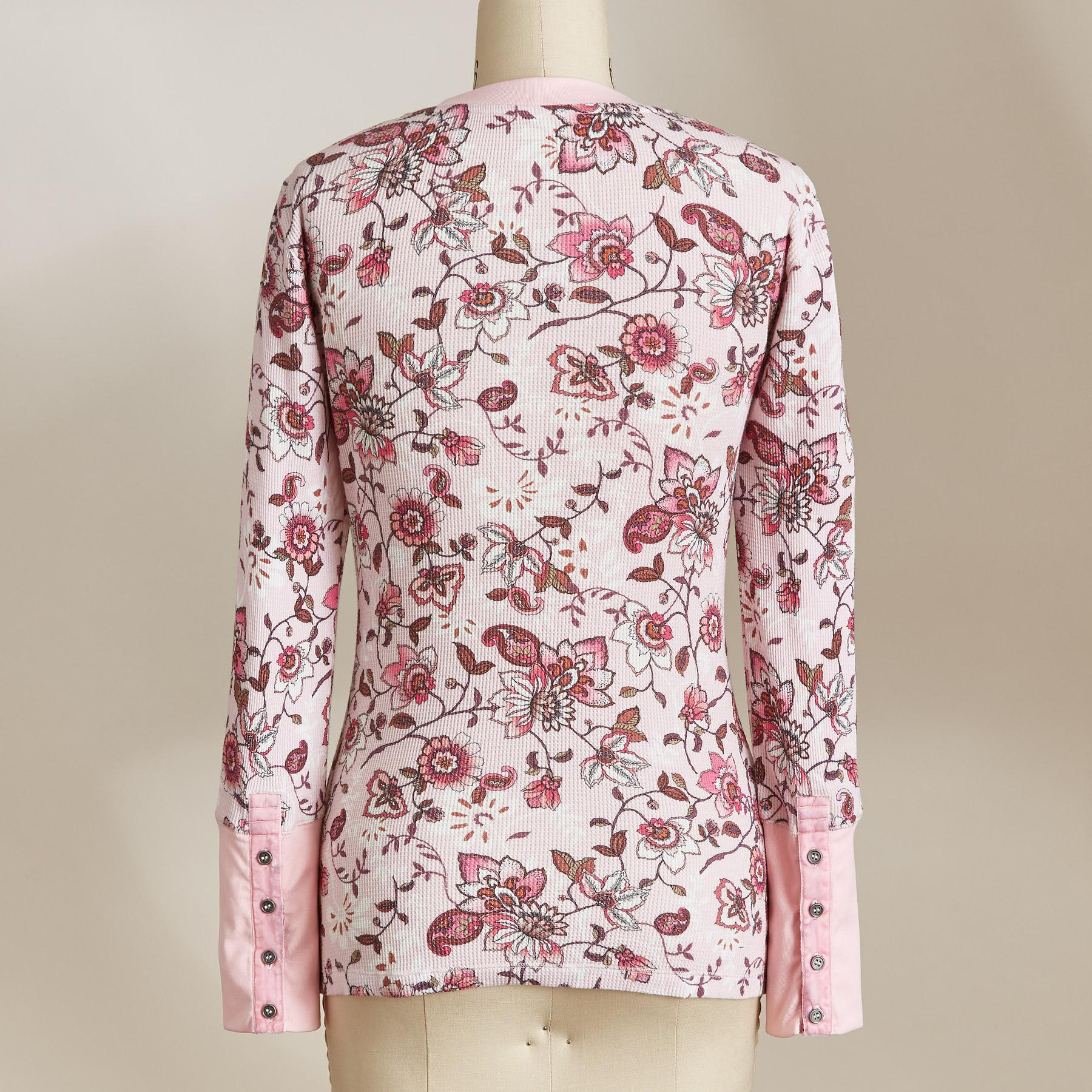 FLORAL THERMAL TEE: View 2