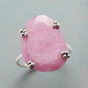 PERFECTLY PINK SAPPHIRE RING