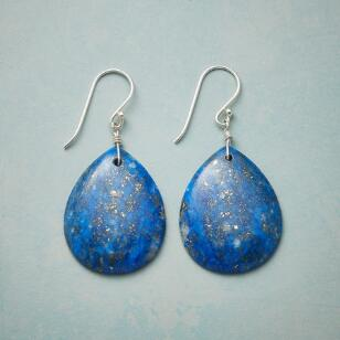 COSMIC VIEW LAPIS EARRINGS