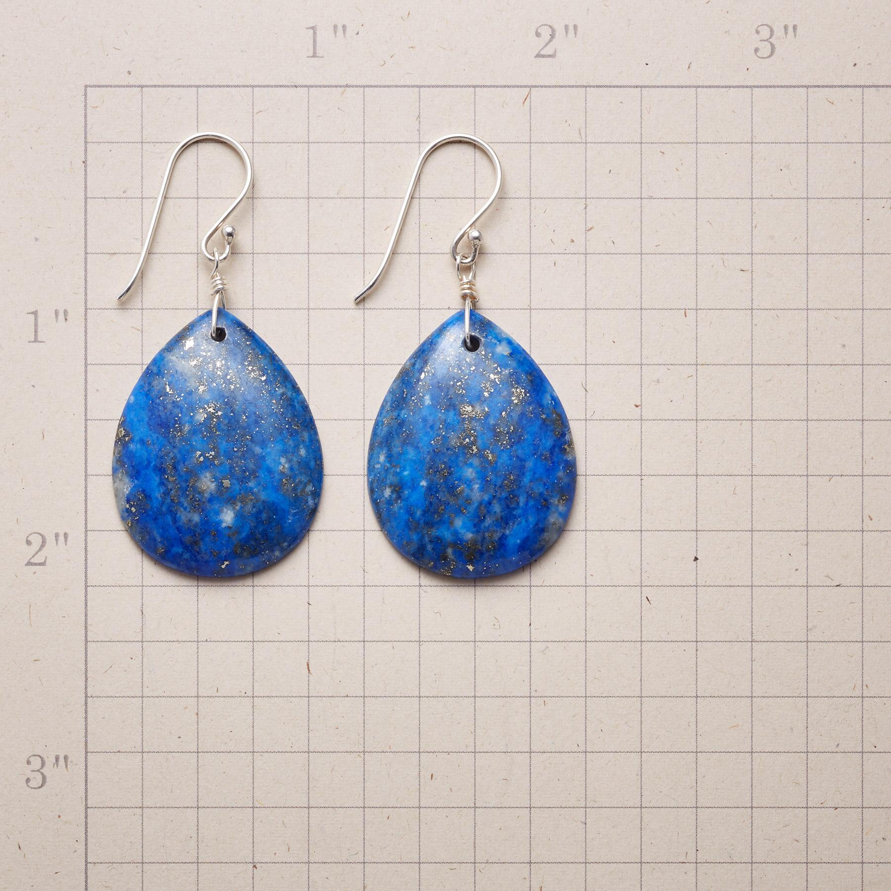 COSMIC VIEW LAPIS EARRINGS: View 2