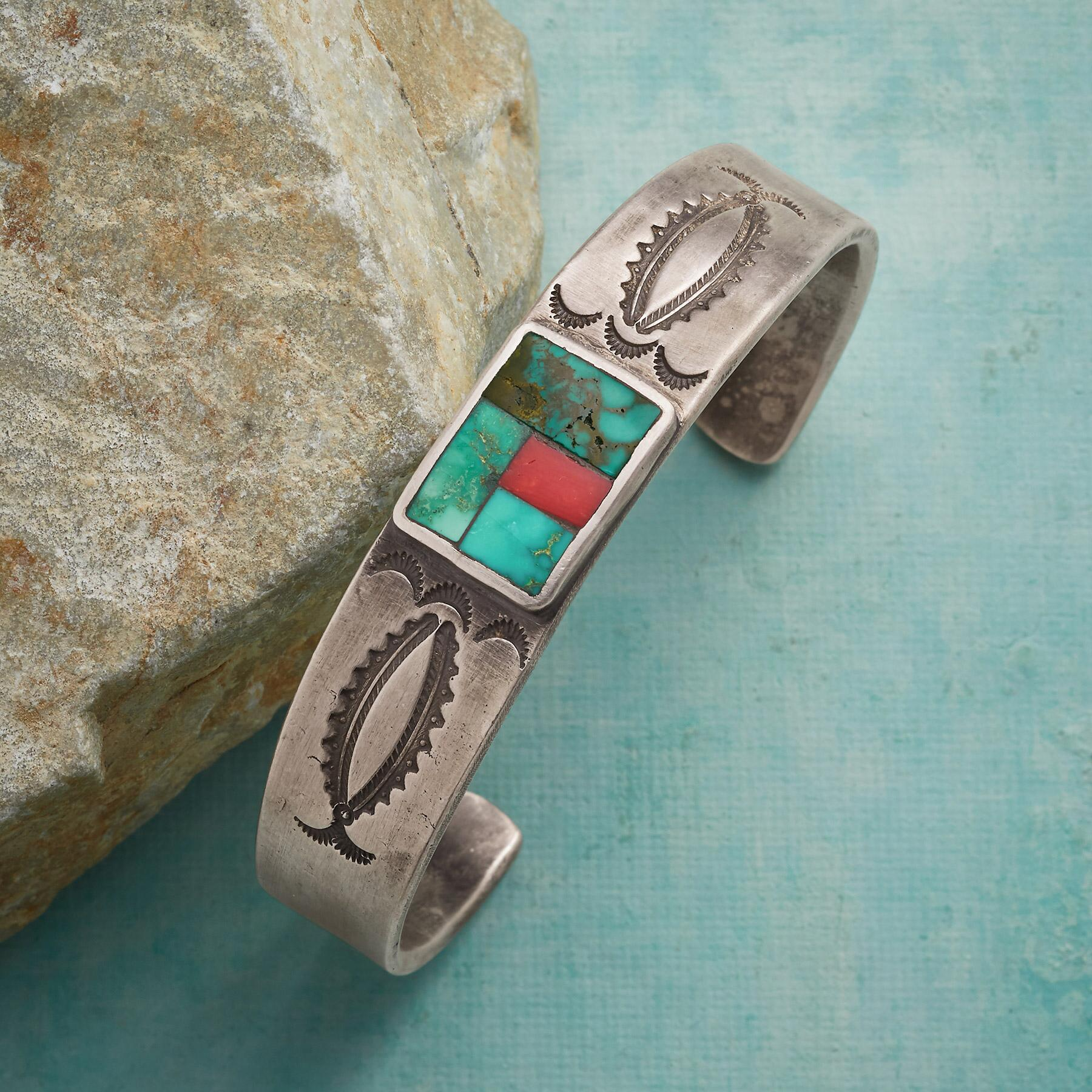 ART OF MOSAIC CUFF BRACELET: View 1