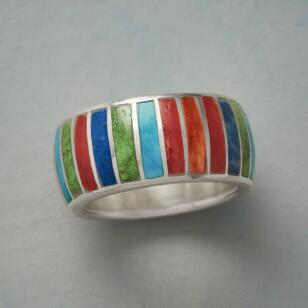 RAINBOW GATHERING RING