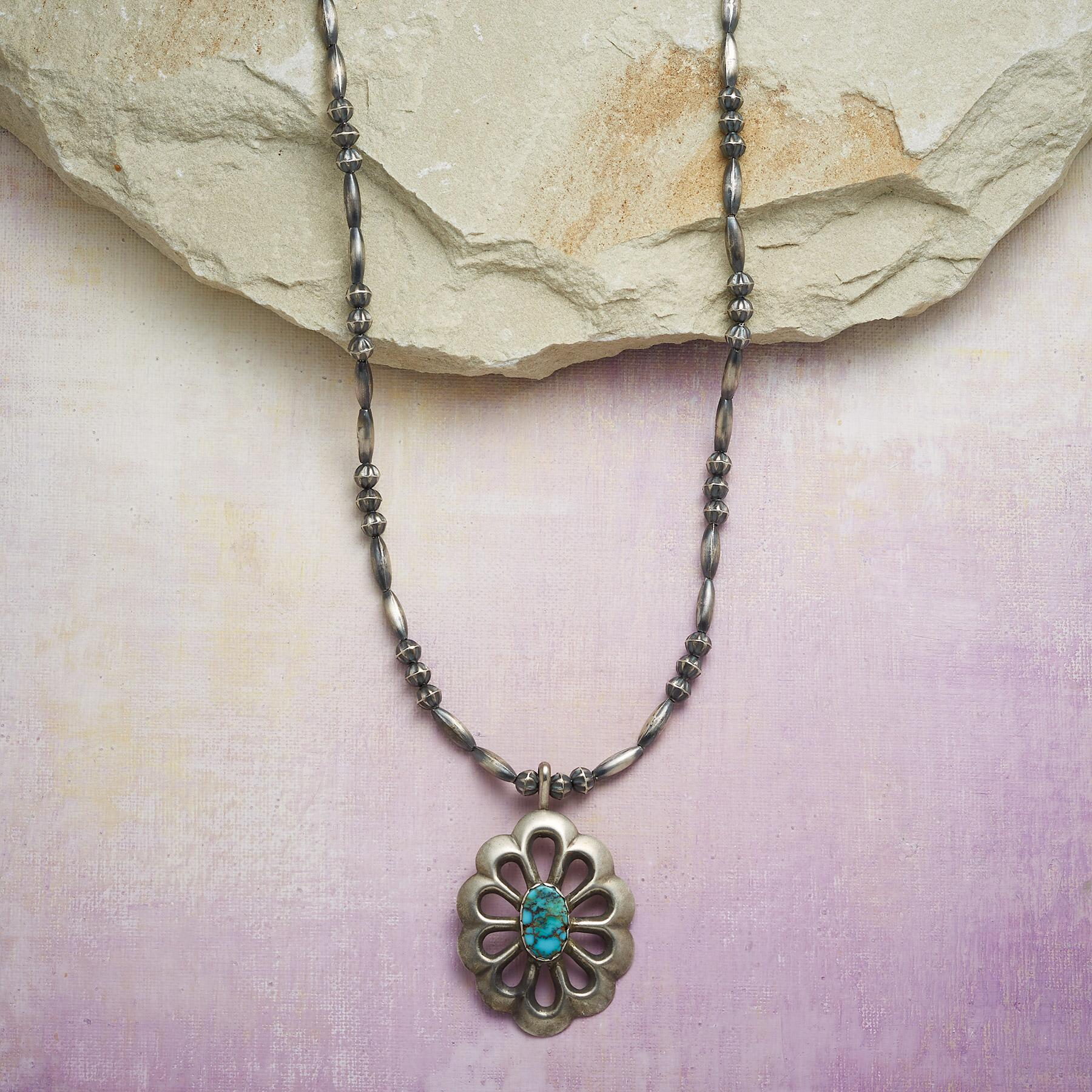 1960S CONCHA NECKLACE: View 1