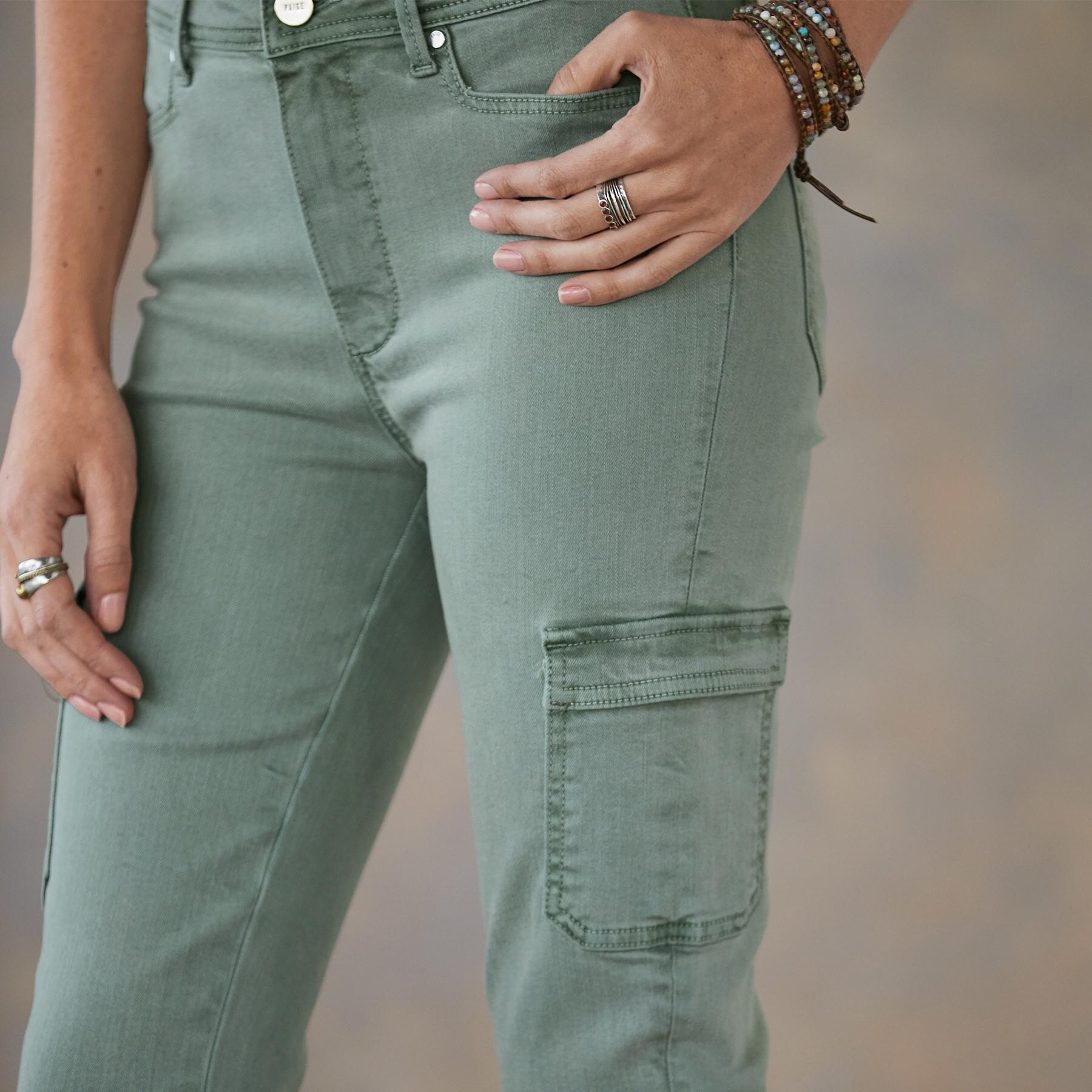 HOXTON SKINNY CARGO PANTS: View 5