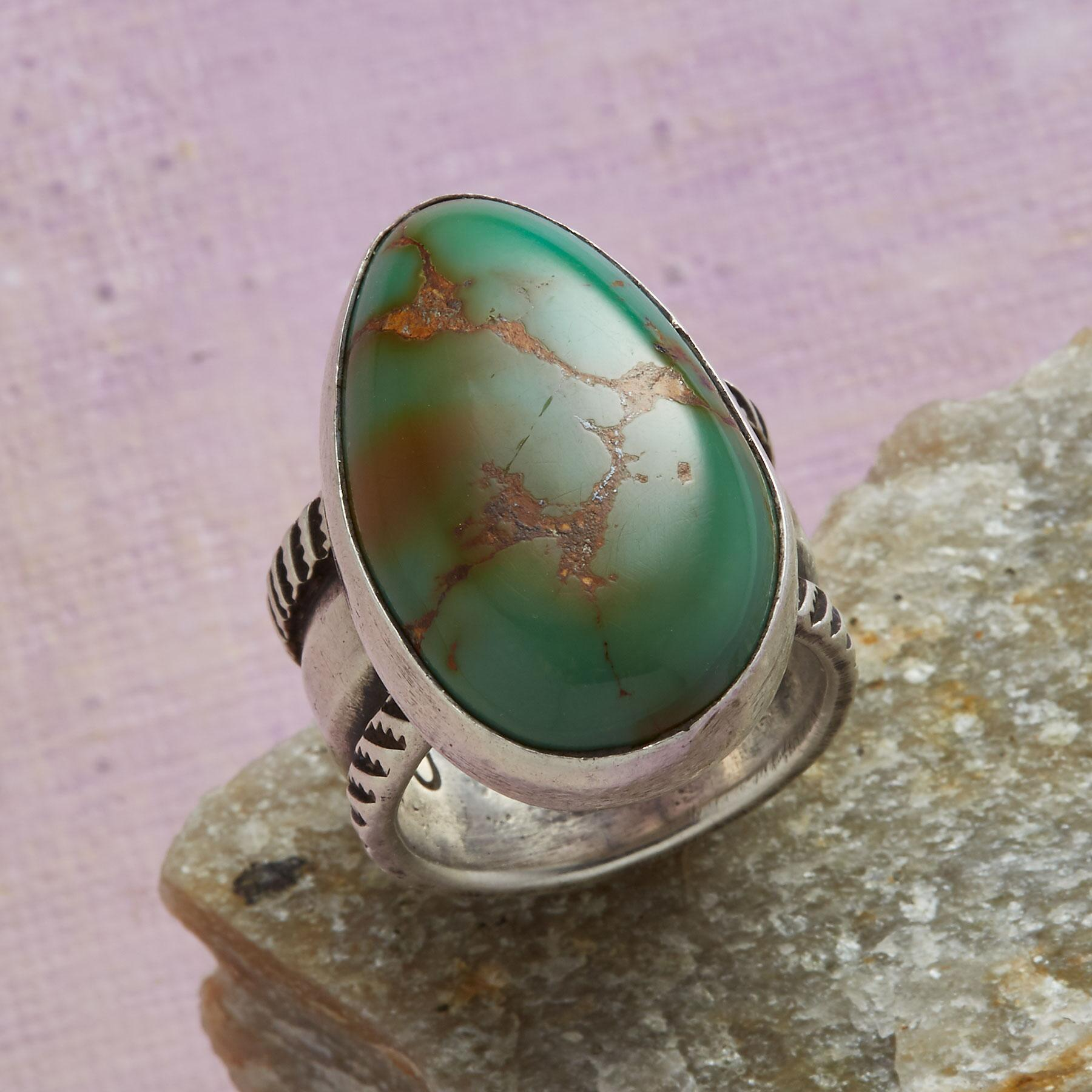 JESSE ROBBINS ROYSTON TURQUOISE RING: View 1