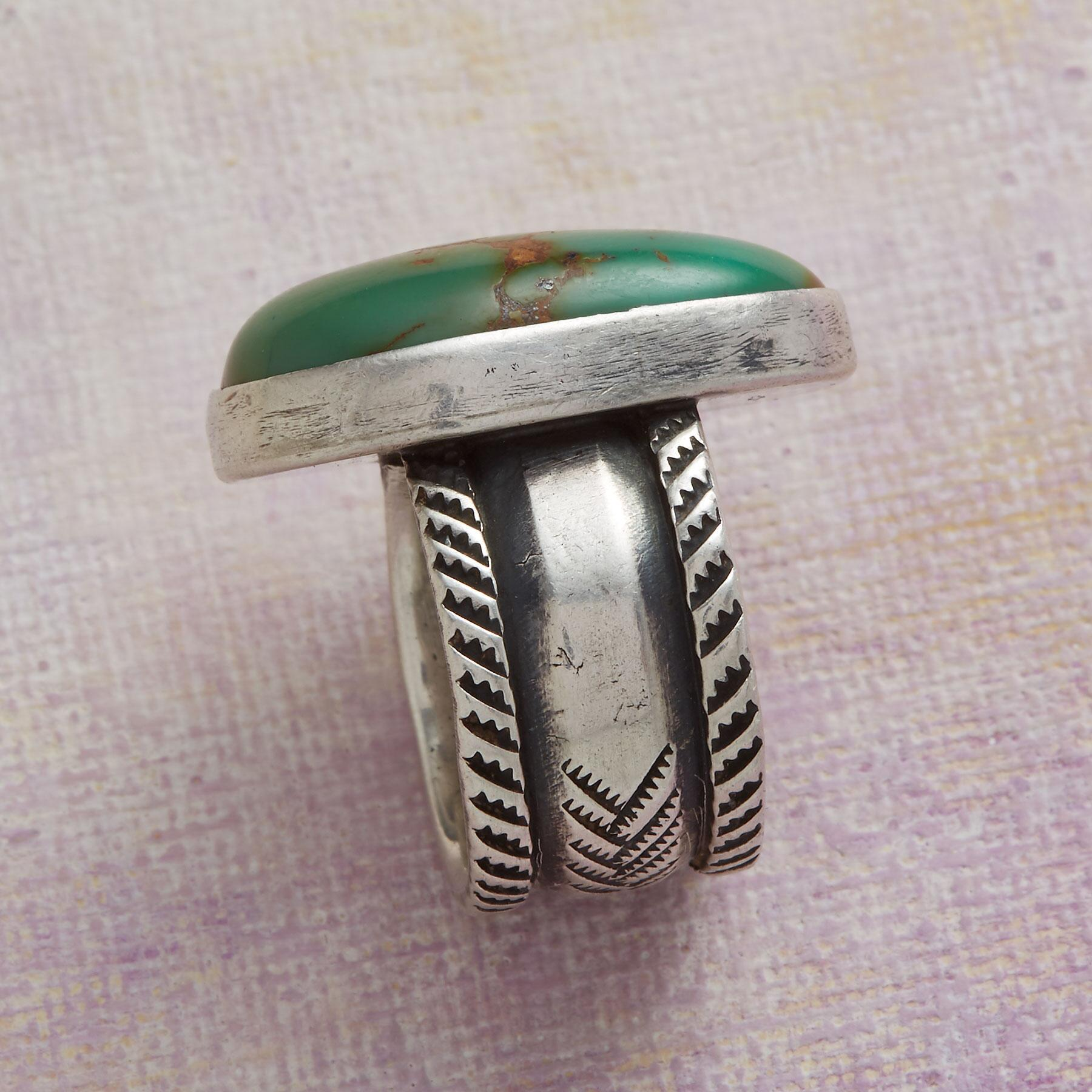 JESSE ROBBINS ROYSTON TURQUOISE RING: View 2