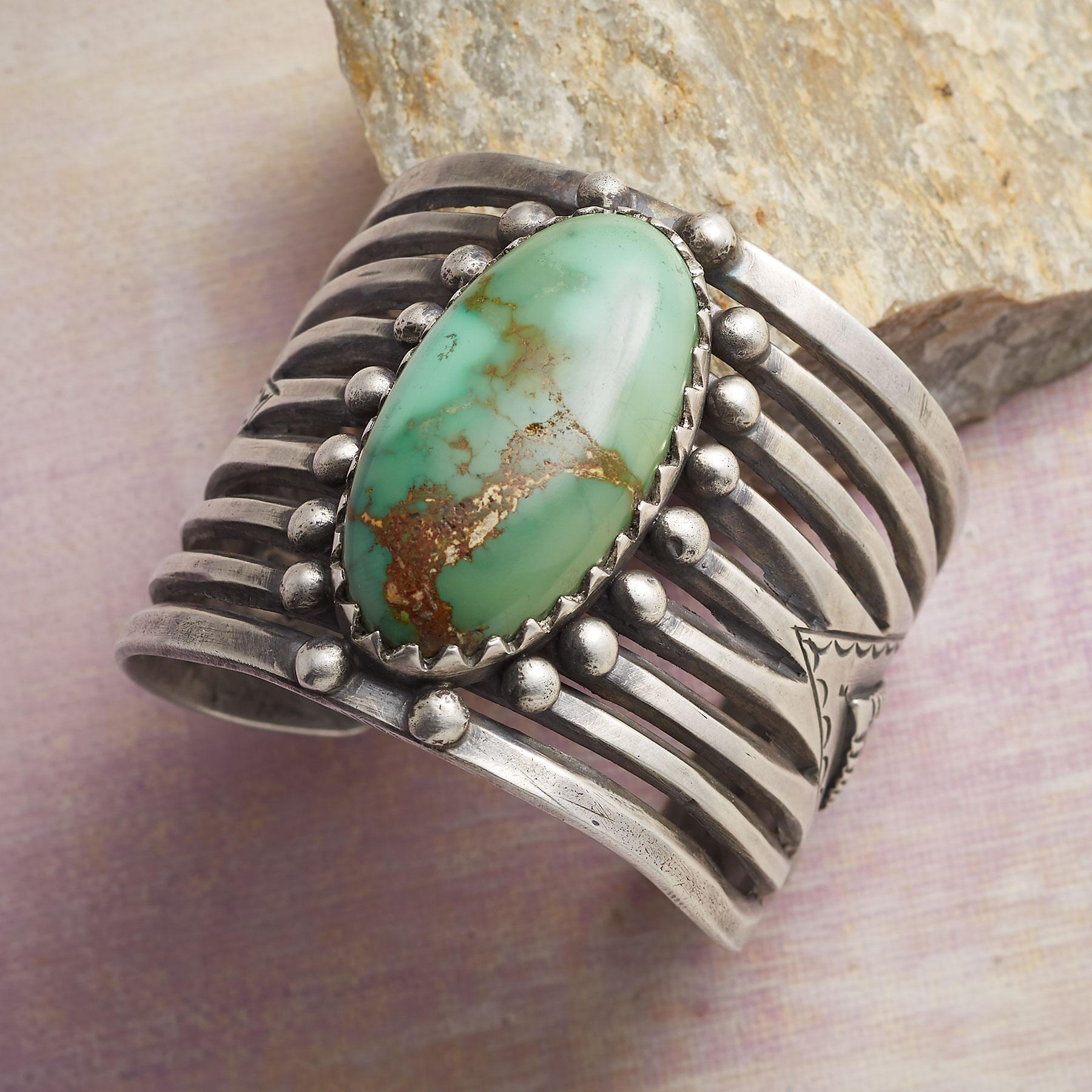 ROBBINS ROYSTON TURQUOISE CUFF: View 1