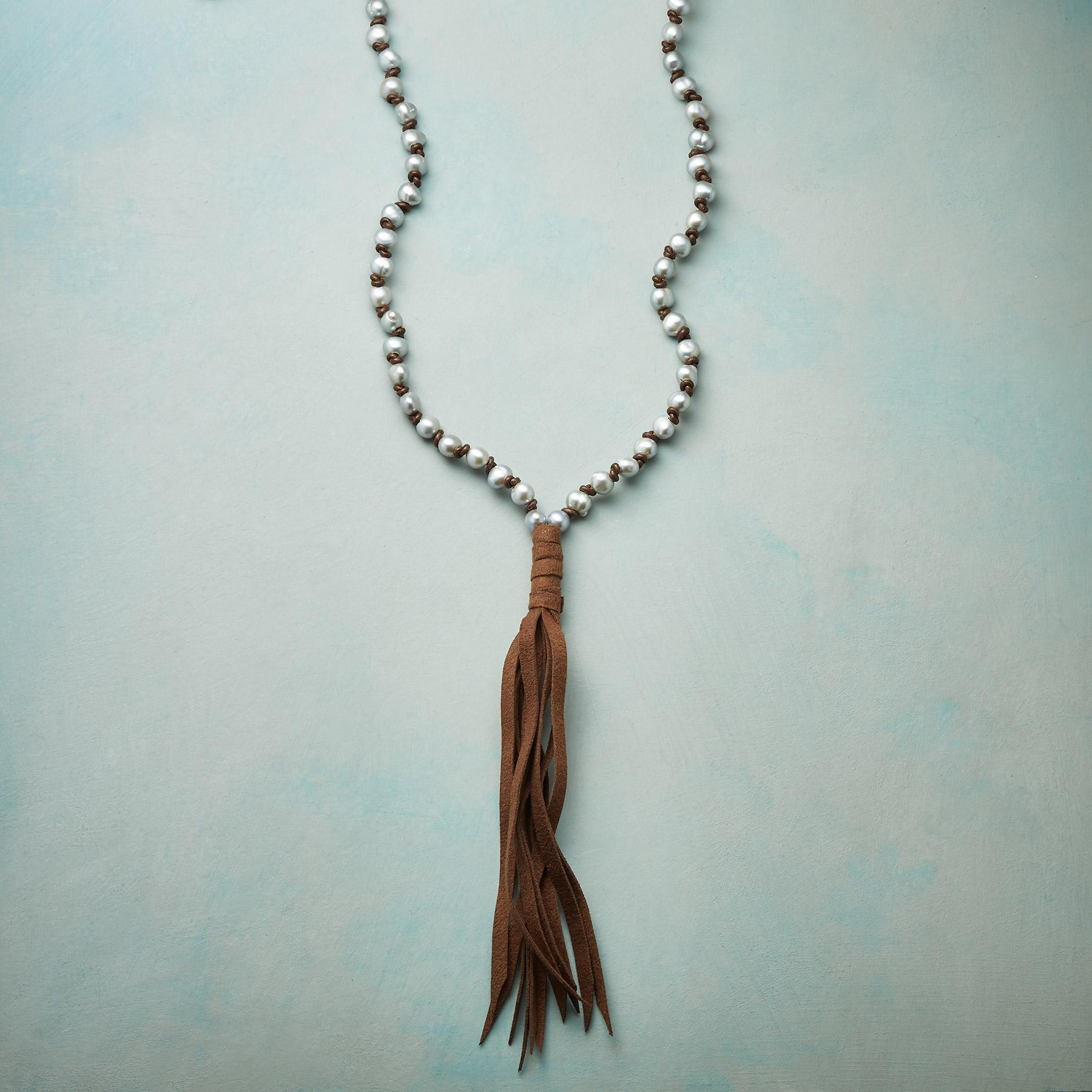 PEARL DREAMS TASSEL NECKLACE: View 1