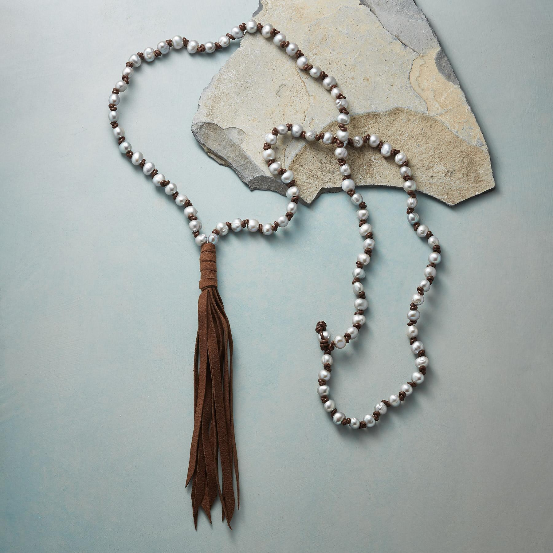 PEARL DREAMS TASSEL NECKLACE: View 2