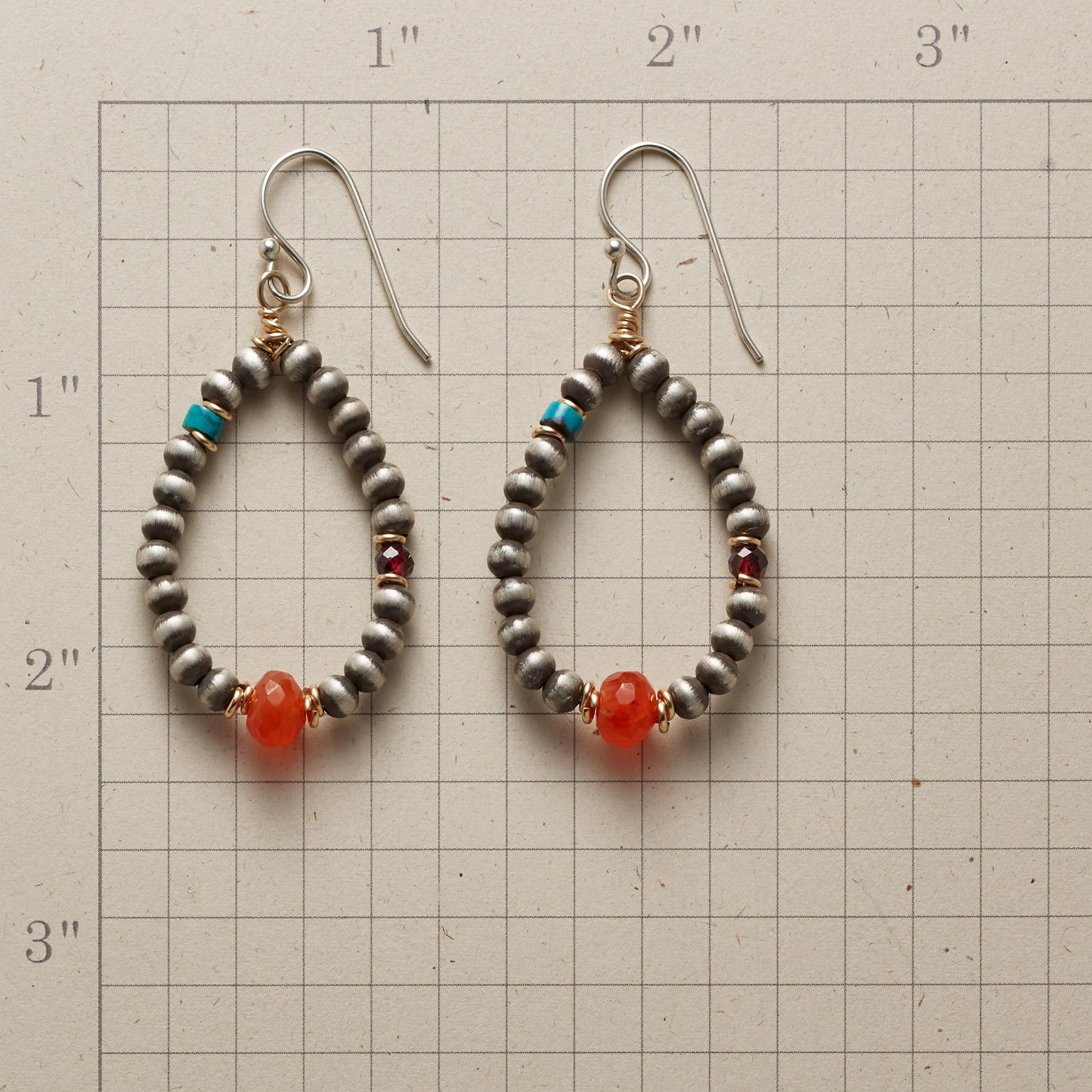 DAPPLED LEAVES EARRINGS: View 2