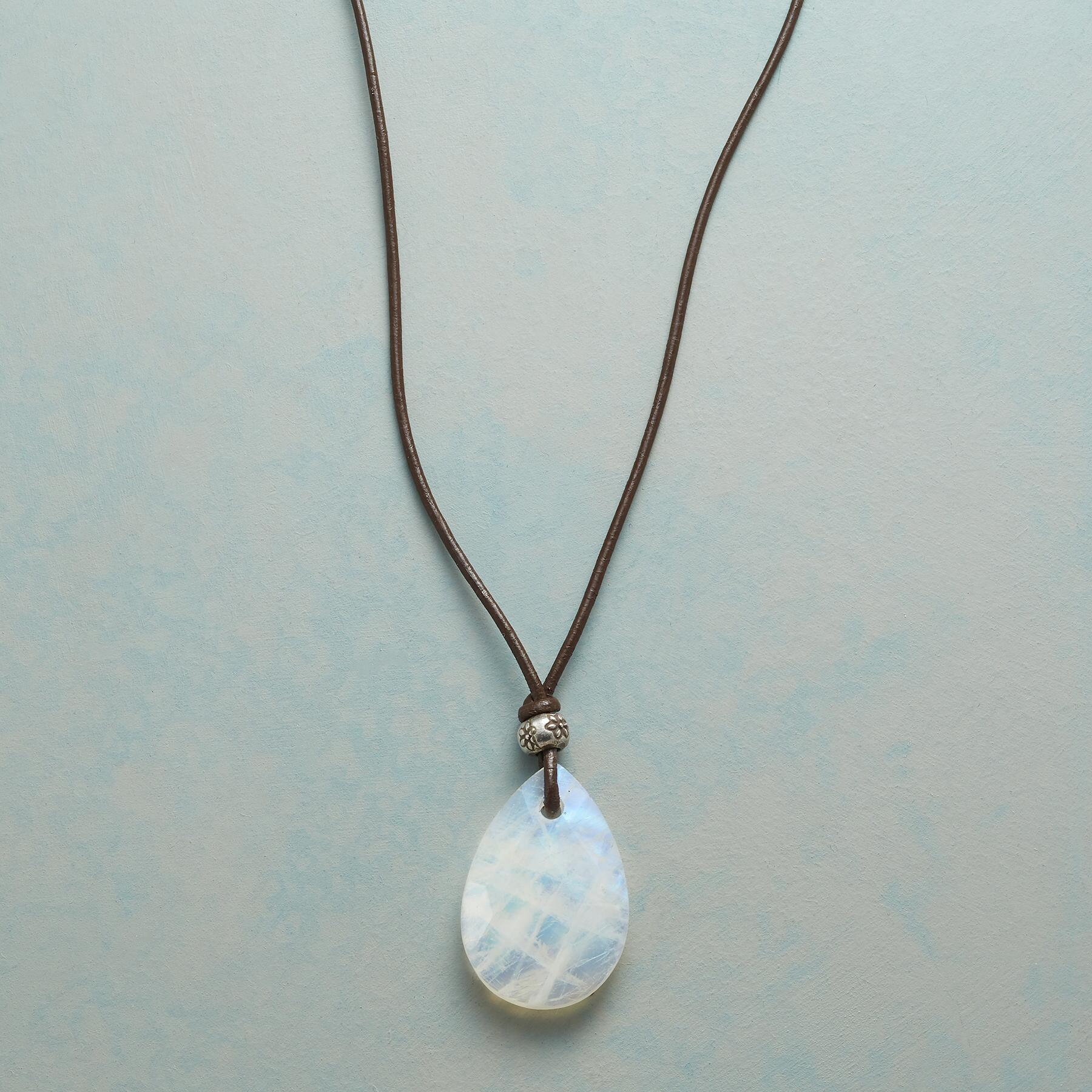 ESSENCE OF STYLE MOONSTONE NECKLACE: View 1