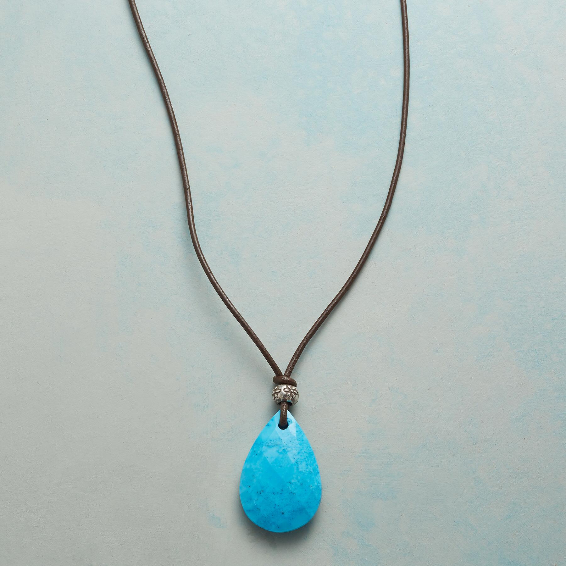 ESSENCE OF STYLE TURQUOISE NECKLACE: View 1