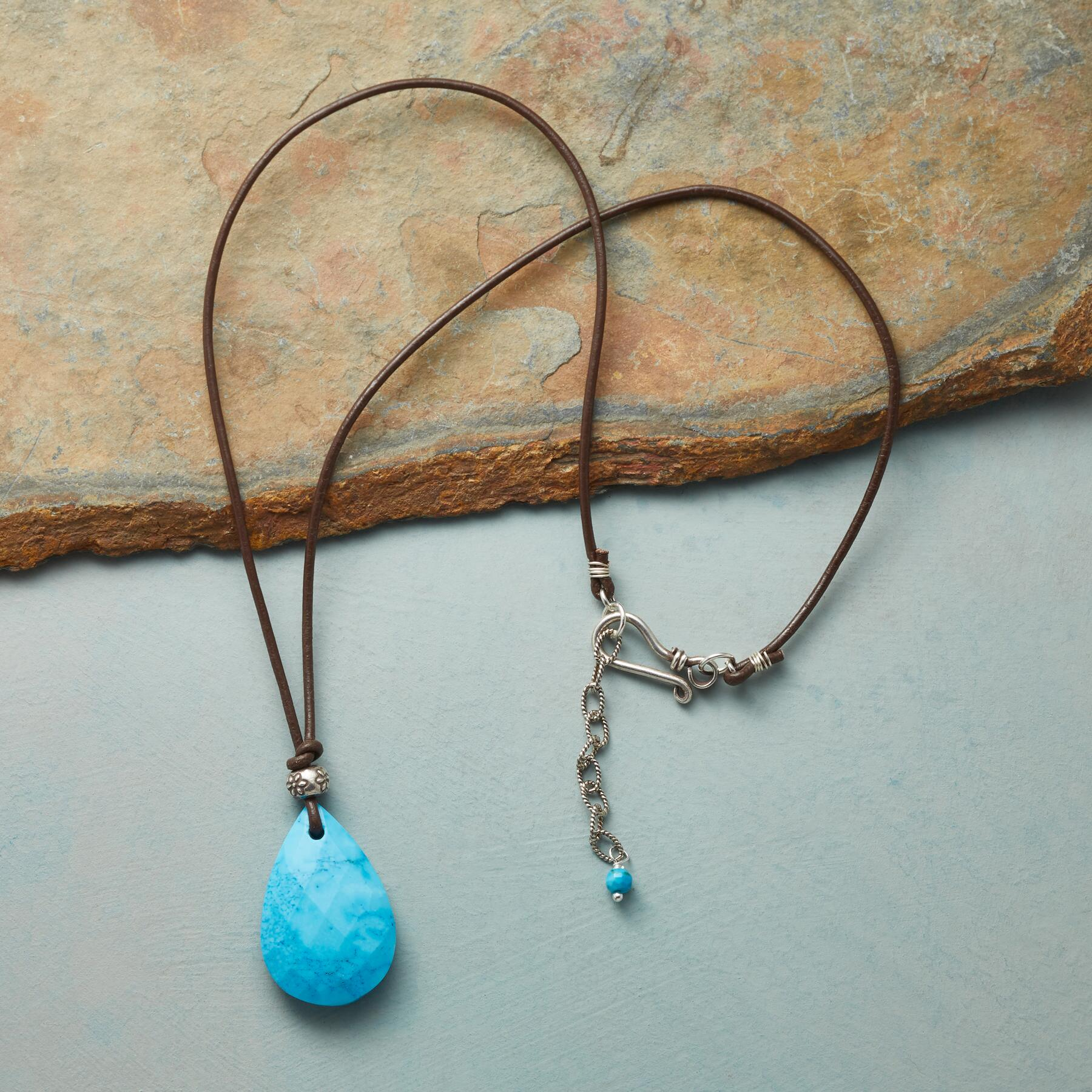 ESSENCE OF STYLE TURQUOISE NECKLACE: View 2