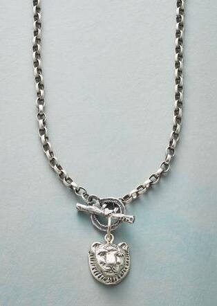 LION HEART NECKLACE