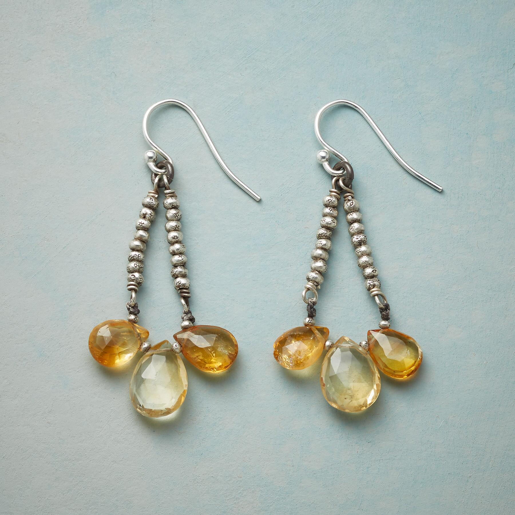SUBDUED SHINE EARRINGS: View 1
