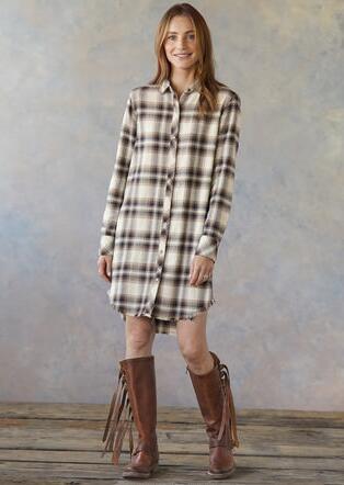 WOODSMOKE & PINE DRESS